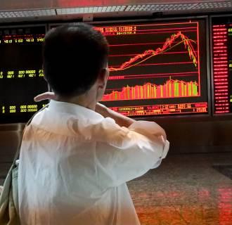 Image: China Stock Crash