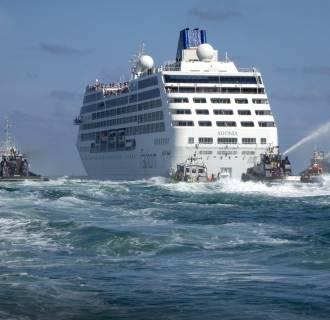 Image: Cruise ship Adonia heads to Cuba