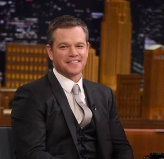 Image: Matt Damon Visits