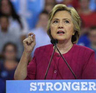 Image: Hillary Clinton in Philadelphia