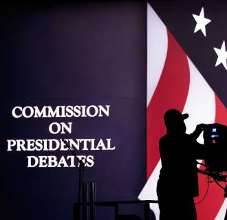 Image: Hofstra University Prepares To Host First Presidential Debate Of 2016 Election