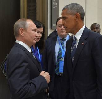 Image: Russian President Putin meets with U.S. President Obama on sidelines of G20 Summit in Hangzhou