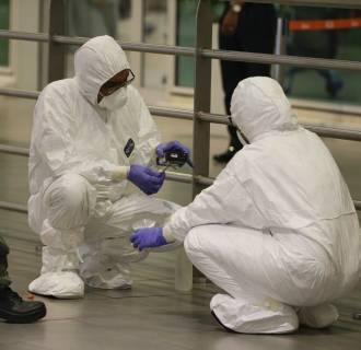 Image: Hazmat team conducts checks in Kuala Lumpur International Airport 2