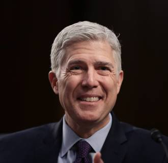 Image: Senate Holds Confirmation Hearing For Supreme Court Nominee Neil Gorsuch