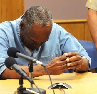Image: O.J. Simpson Granted Parole At Hearing