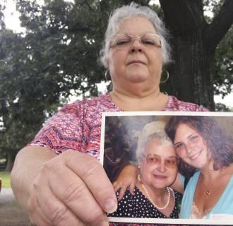 Image: Susan Bro, the mother of Heather Heyer
