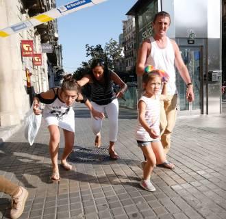 Image: Terror Attacks in Spain