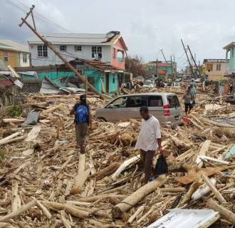 Image: BESTPIX DOMINICA-HURRICANE-MARIA-AFTERMATH