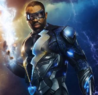 Image: Cress Williams as Black Lightning