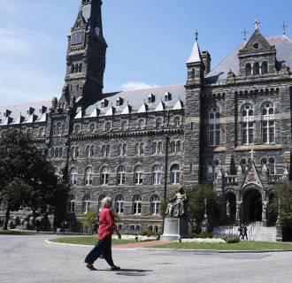 Image: Melisande Colomb, 63 attends Georgetown University