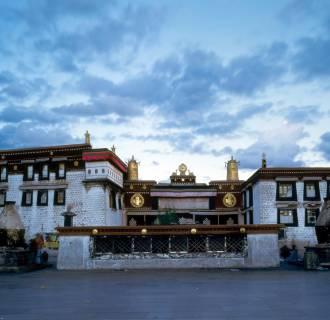 Image: The Jokhang Temple in Lhasa, southwest China's Tibet Autonomous Region.
