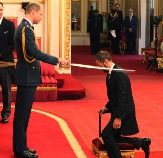Image: Investitures at Buckingham Palace