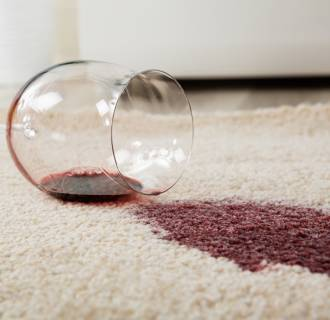 Image: Red Wine Spilled On Carpet