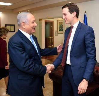Image: Jared Kushner in Israel
