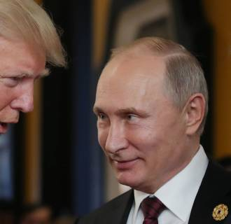 Image: Trump and Putin