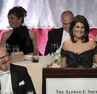 Image: Nikki Haley Honored At Annual Alfred E. Smith Memorial Foundation Dinner