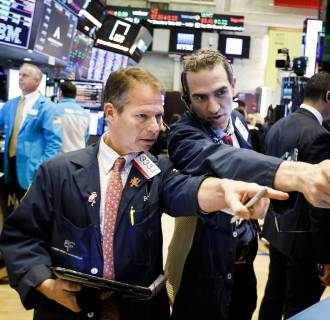 Image: Traders work on the floor of the New York Stock Exchange on Dec. 10, 2018.