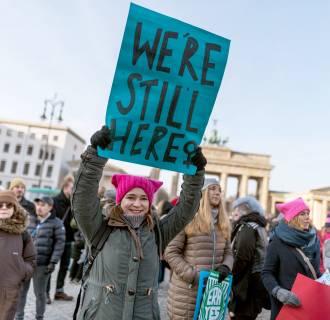 Image: 2019 Women's March in Berlin