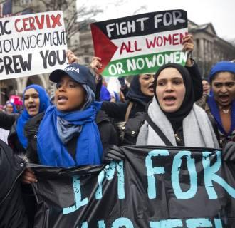 Image: Women's March in Washington DC