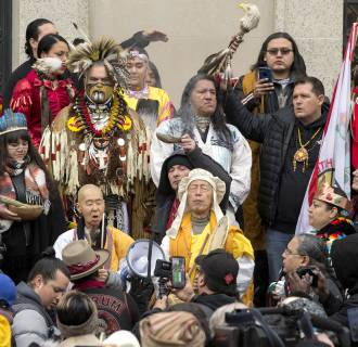 Image: Indigenous People's March in Washington DC