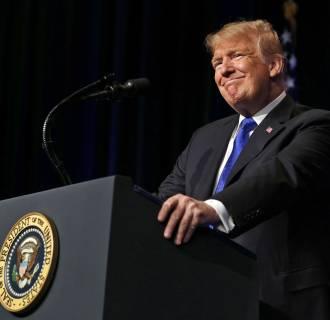 Image: President Trump Speaks About Missle Defense Doctrine At The Pentagon