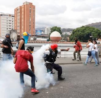 Image: Venezuela protest