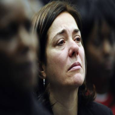 Sandy Hook mom makes plea for 'common sense' gun controls