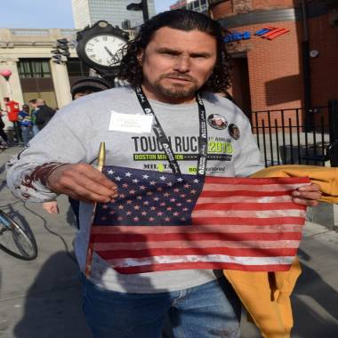 The man in the hat at Boston Marathon finish line: Carlos Arredondo didn't set out to be hero