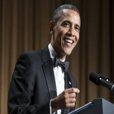 Love, hate and jokes: Obama ribs media at correspondents' dinner