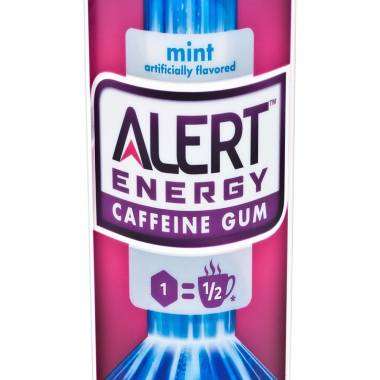 Caffeinated gum raises buzz about health effects