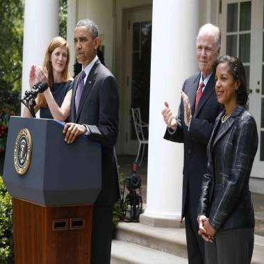 Obama appoints Susan Rice as national security adviser