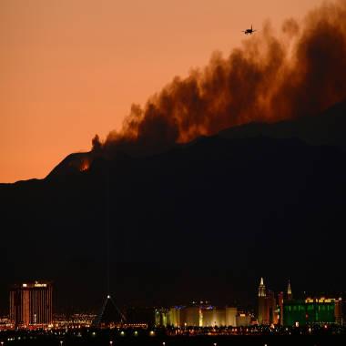 Fire crews gain little ground in burning West