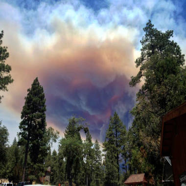 Calif. crews battle raging Mountain Fire as possible thunderstorms loom
