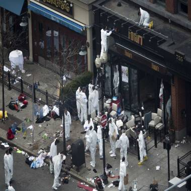 Restaurant at epicenter of Boston Marathon bombings reopens