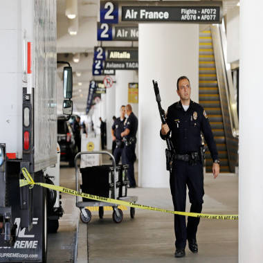 LAX suspect's family 'shocked and numbed' by shooting