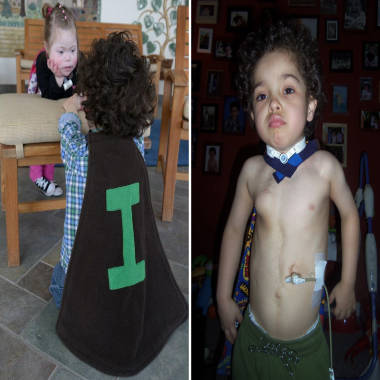 Tiny superheroes fight big illnesses in little capes