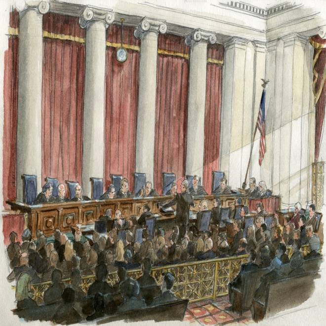 Supreme Court hints that it won't issue sweeping ruling on same-sex marriage