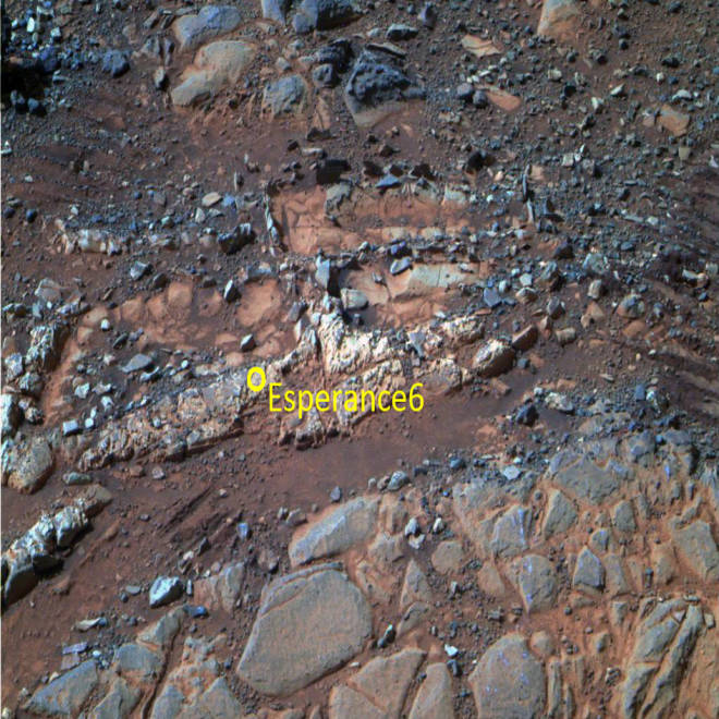 Opportunity rover finds traces left by 'water you can drink' on ancient Mars