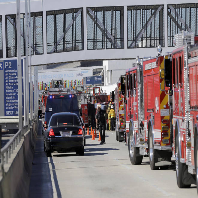 LAX shooting: TSA officer Hernandez bled for 33 minutes at scene - report