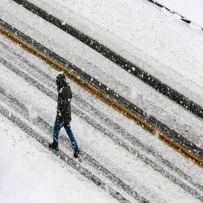 Northeast getting slammed with cold, snow as winter storm intensifies