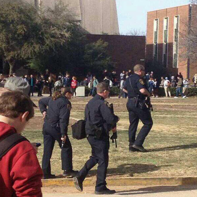 No evidence of shots fired after university of oklahoma reports