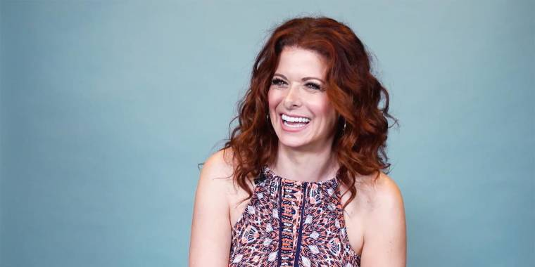 Debra Messing Shares The Journey To Loving Her Curly Red HairDebra