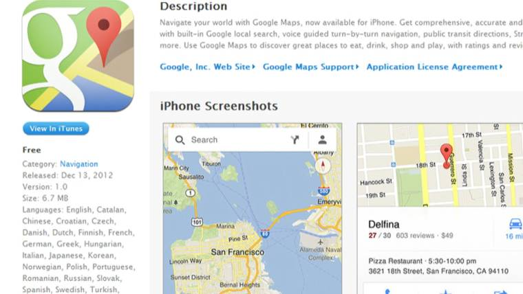 Iphone Users Rejoice As Google Maps Releases App