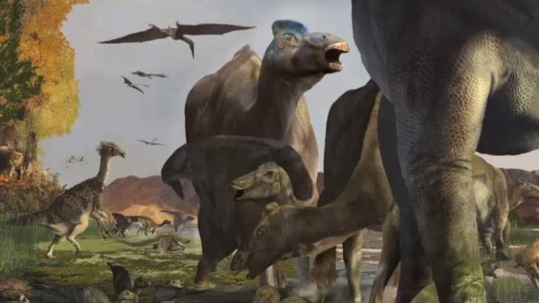 Dinosaurs Walked Through Denali: Footprints Found in Alaska