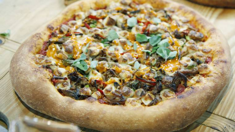 Pizza night! Skip delivery and whip up these gourmet pizza pies