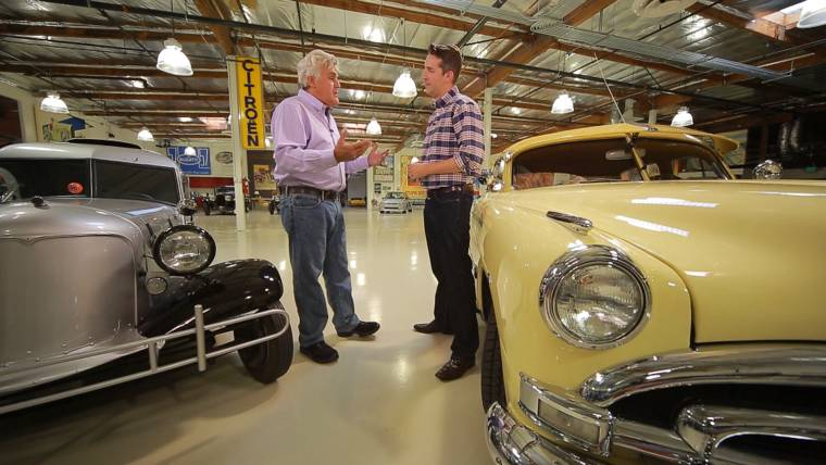Jay Leno Revs Up For Return To Tv With Jay Leno S Garage On Cnbc