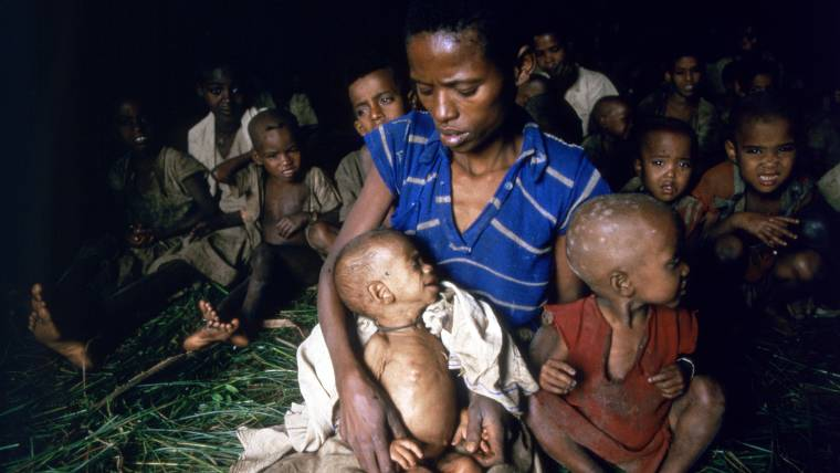 a history of ethiopia struck by famine between 1983 and 1985 Ethiopia has a history of famine between 1983 and 1985 the country experienced the worst famine in current history, with a substantial crop and livestock loss about eight million ethiopians were.