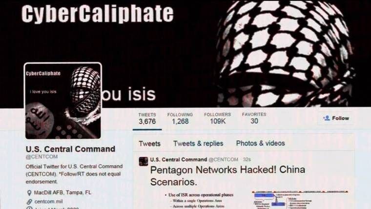 fb2b4bb0d CENTCOM Twitter, YouTube Accounts Hacked With Pro-ISIS Messages