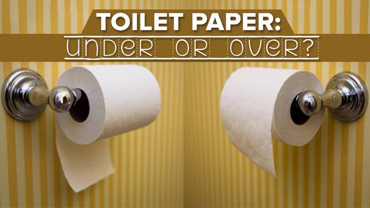 Toilet paper \'over or under\' debate resolved via 1891 patent