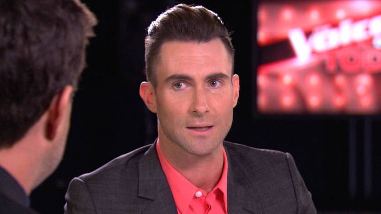 Adam Levine reveals details of stage-crashing fan to Carson Daly, Blake Shelton